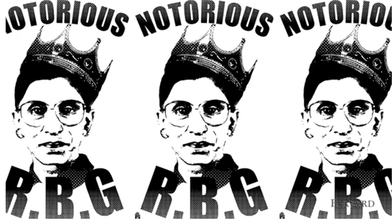Notorious R.B.G. (that's Justice Ginsburg, to you) gets a tattoo in her honor on Instagram
