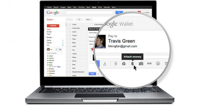 Gmail users in the UK can now send and receive money straight from their accounts