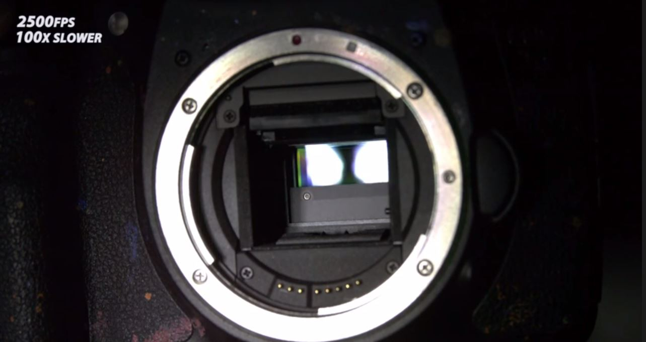 This Super Slow-Mo Video Shows How Complex Cameras Are