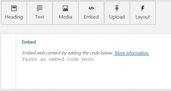 Sway embed code
