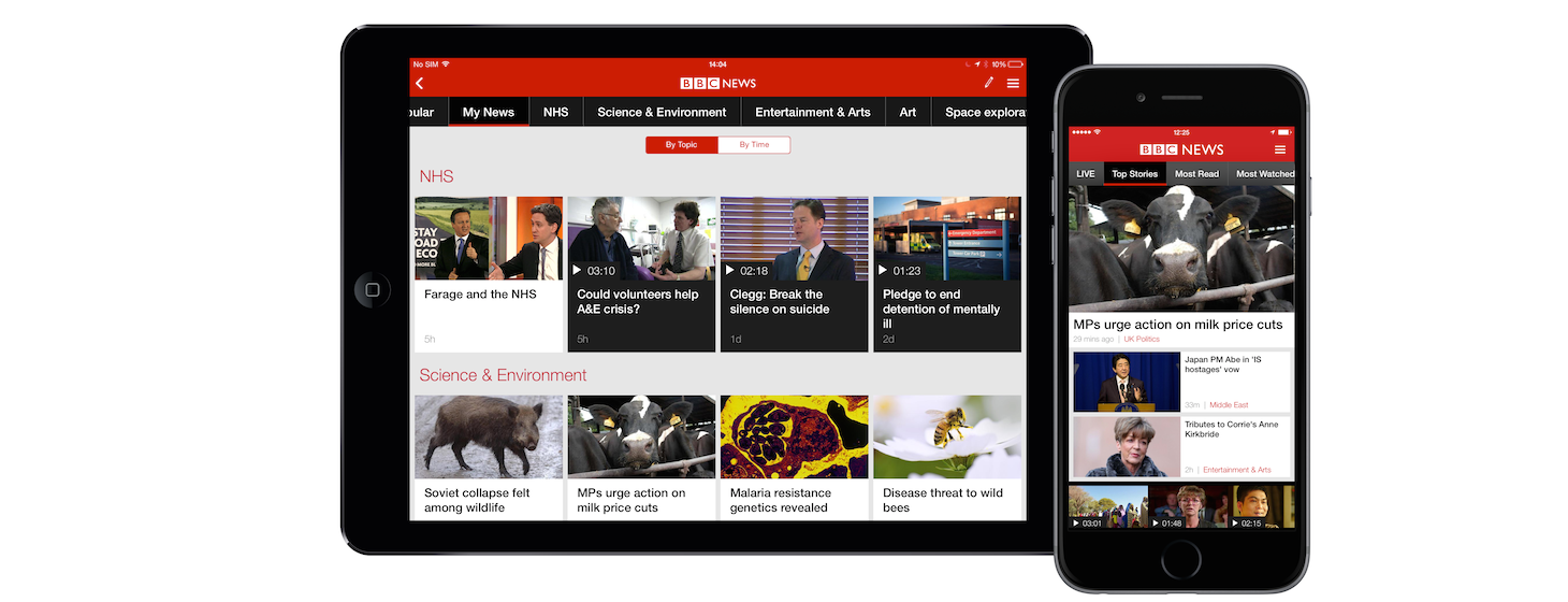 BBC News App For iOS And Android Gets Major Redesign