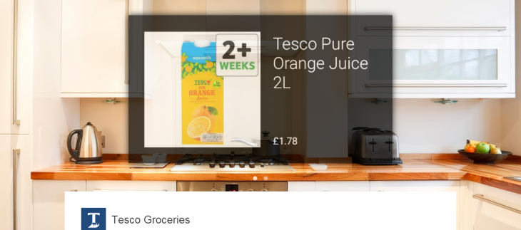 UK supermarket Tesco pushes on with its vision for shopping via Google Glass