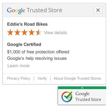 Trusted stores badge