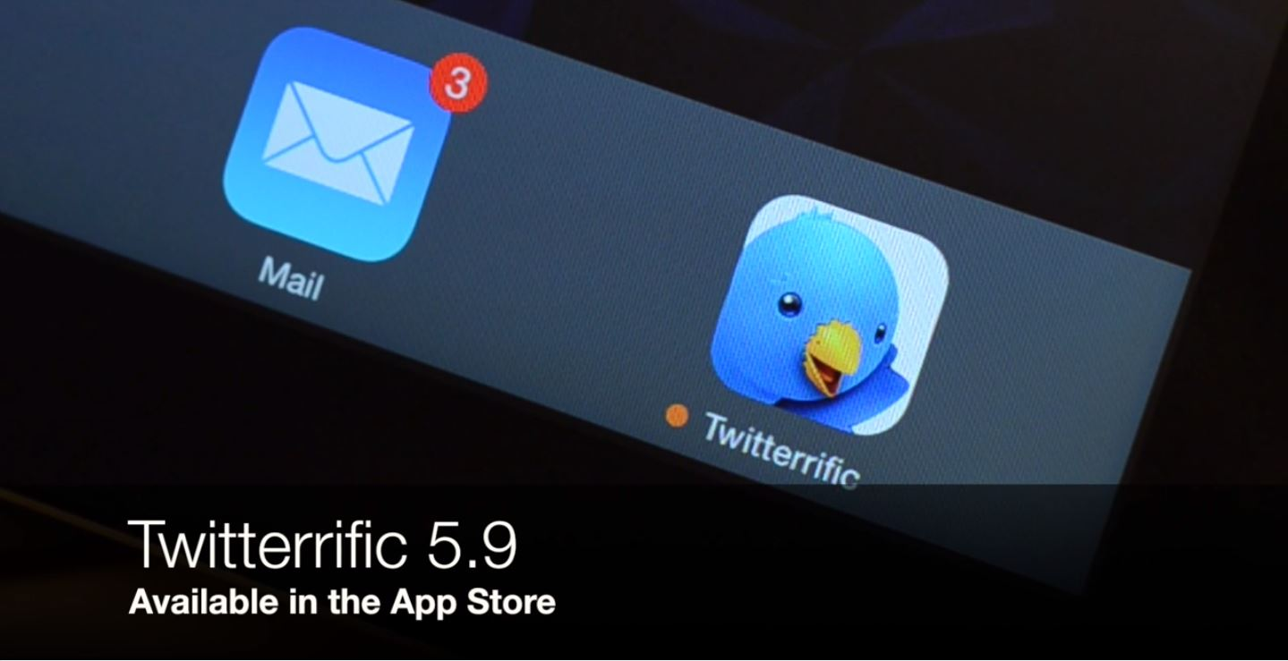 Twitterific for iOS Gets Multi-Image Uploads, Video Previews
