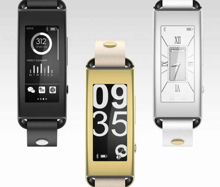 Lenovo gets into wearables with E Ink VIBE Band