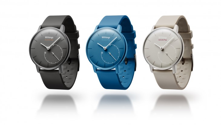 Withings' new Activité Pop is an activity tracker in a low-cost analog watch