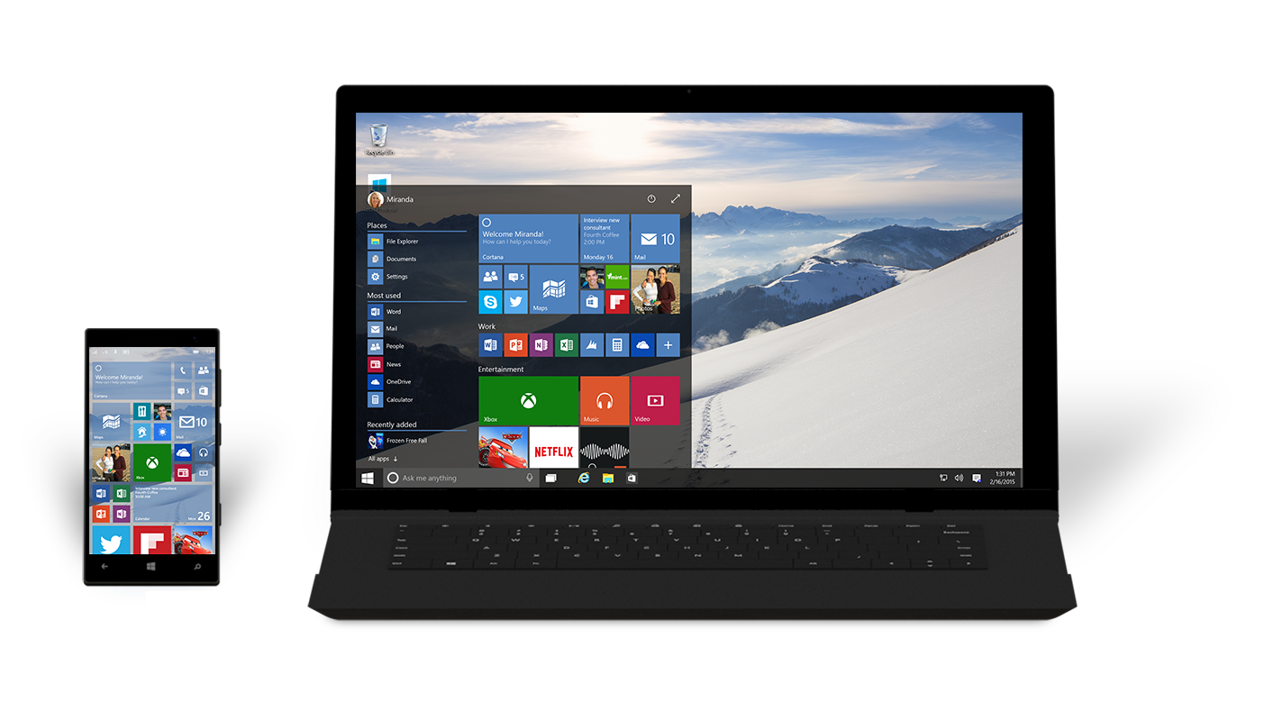 Microsoft Releases New Build Of Windows 10, Without Spartan