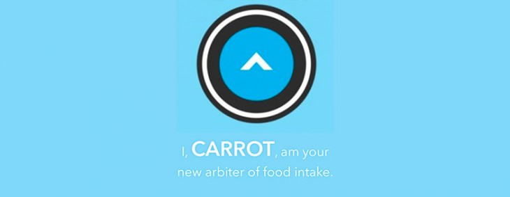 Carrot's new calorie counting app wants to insult you into losing weight