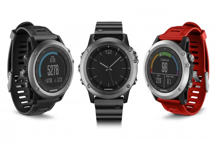 Garmin launches a trio of GPS smartwatches: Fenix 3, Epix and Vivoactive