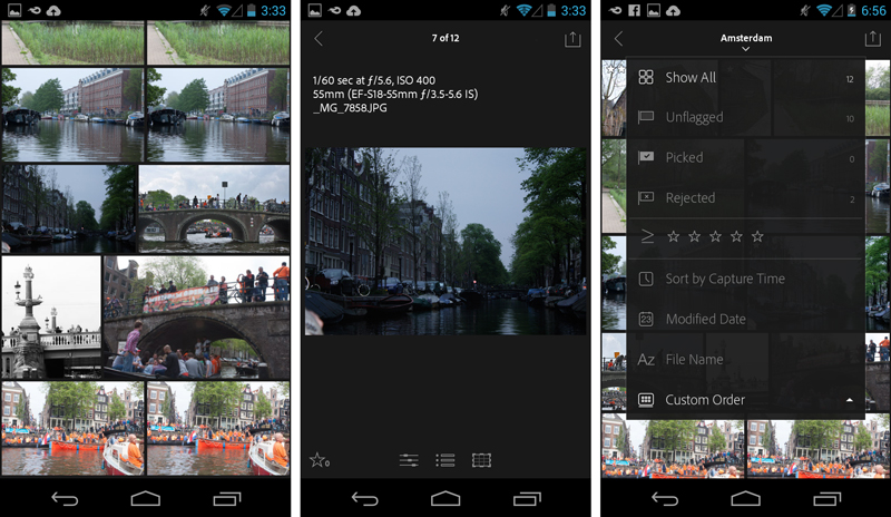 Adobe's New Lightroom Mobile for Android Is For Phones Only