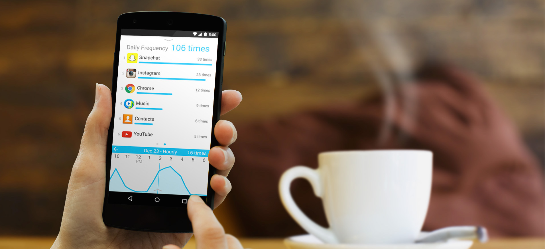 QualityTime Tracks How Much You Use Your Android Phone