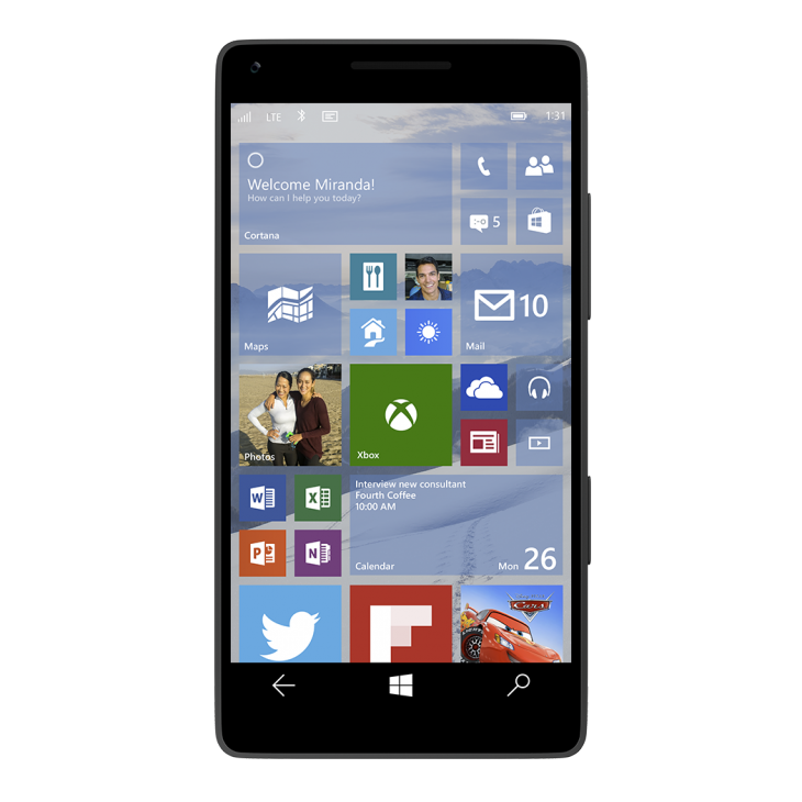 Microsoft announces mobile version of Windows 10