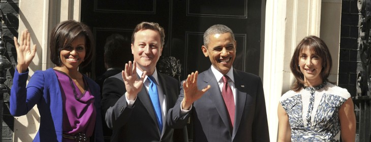 President Obama follows the wrong David Cameron on Twitter