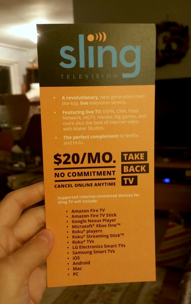 Sling TV Review: A Bargain for Millennial Families