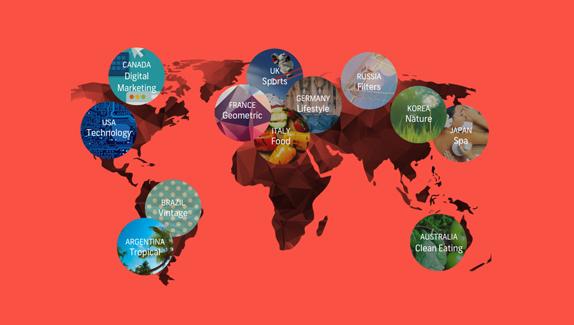 Infographic: explore Shutterstock's 2015 creative trends