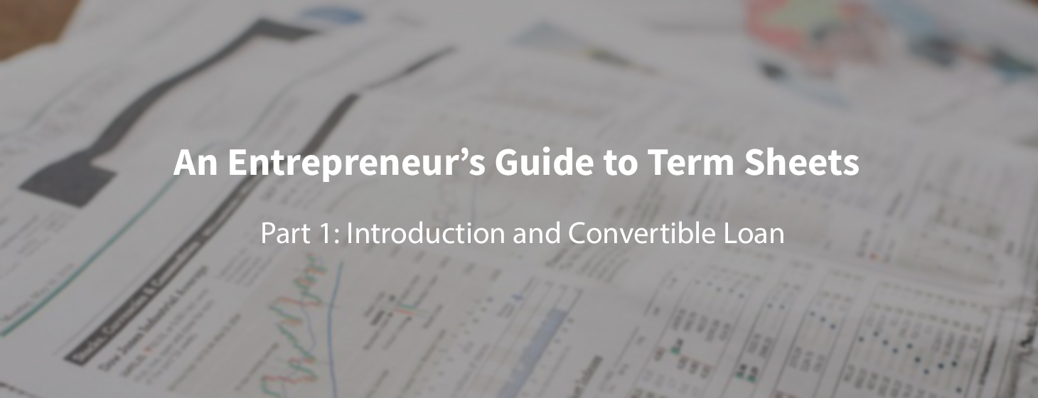 First-time Founder's Guide to Term Sheets (Part 1)