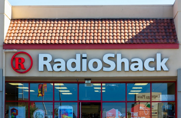 RadioShack officially files for bankruptcy, holds on to life with Sprint agreement