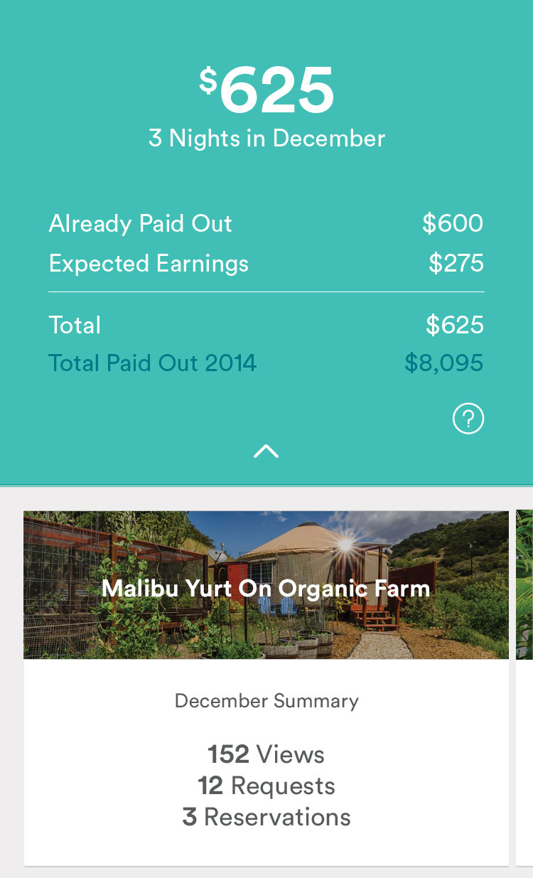 Airbnb Launches New Dashboard and Updated app for Hosts