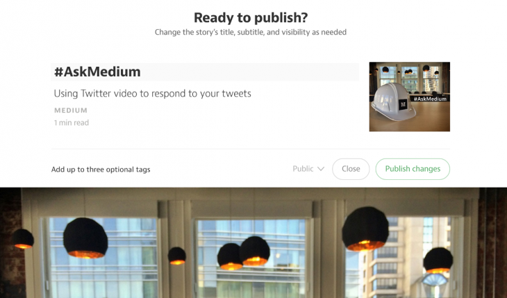 Medium pushes for shorter posts and a wider audience with new functionality