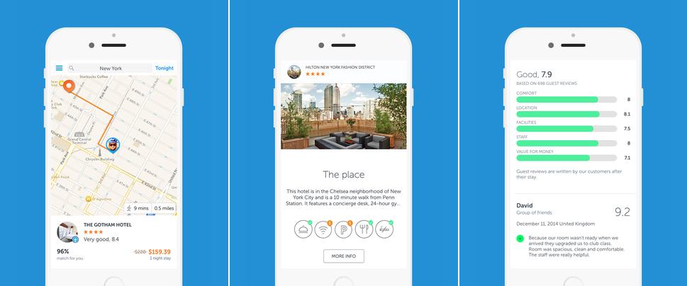 Booking Now's Accommodation App for iOS Devices Lands in Europe