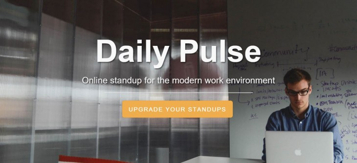 Daily Pulse takes a minimalist approach to team productivity