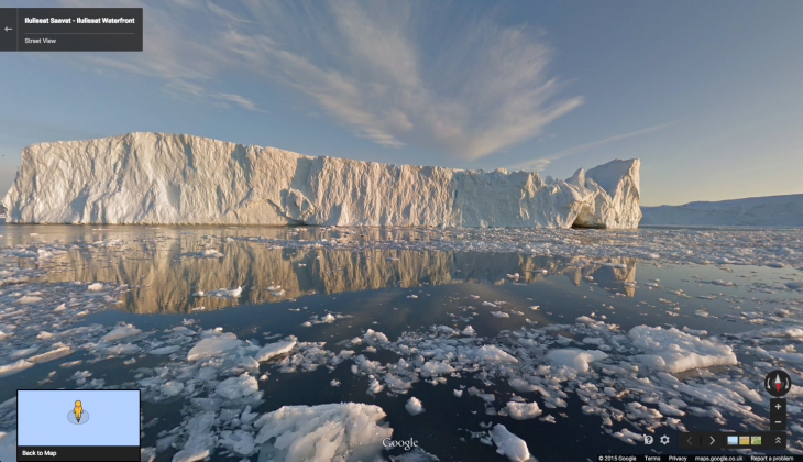 You can now explore the breathtaking scenery of Greenland's viking ruins using Google's Street ...
