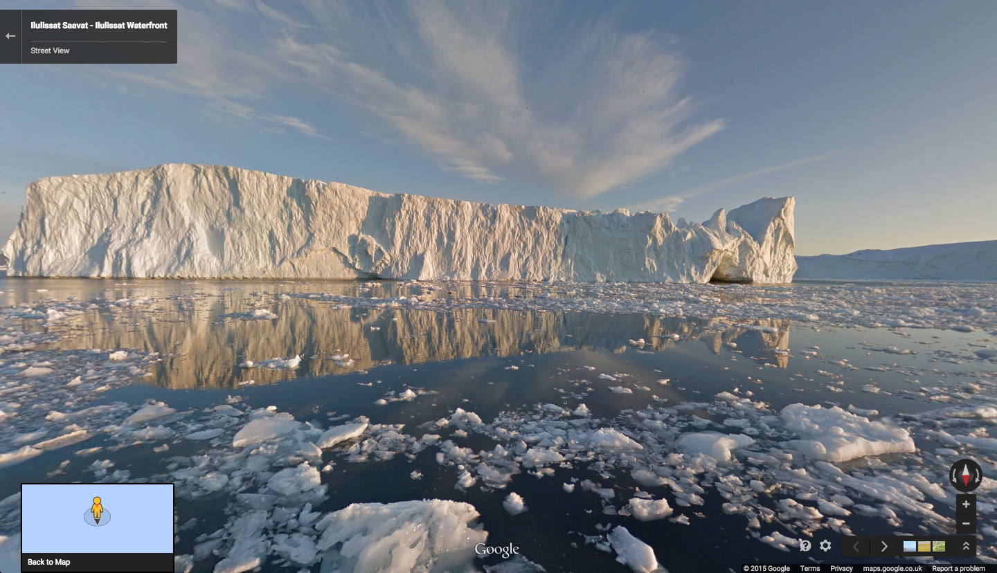 Explore the Scenery of Greenland Using Google's Street View