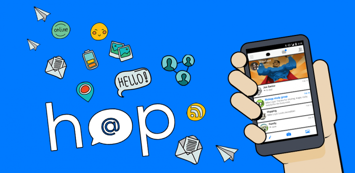 Hop, the app that turns email into quick messages has landed on Android