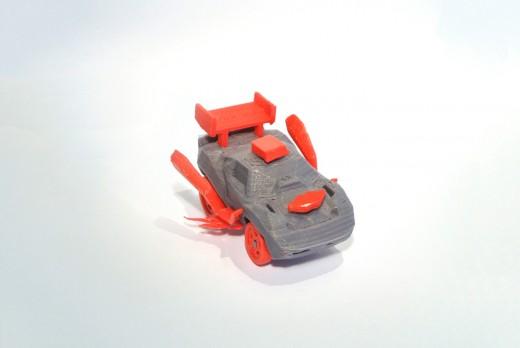 Mini 3DRacers corvette 2