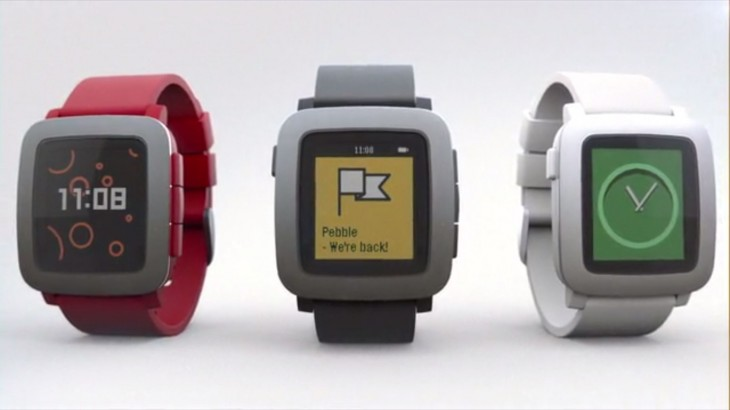 Pebble announces the $179 Pebble Time smartwatch with a color screen