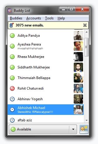 Pidgin Instant Messaging - Hangout alternative