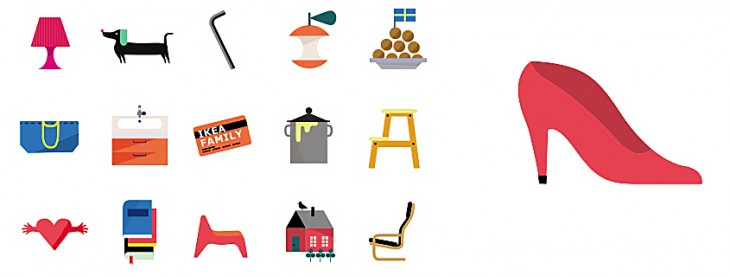Ikea's emoticon app reminds loved ones to clean up their mess, among other things
