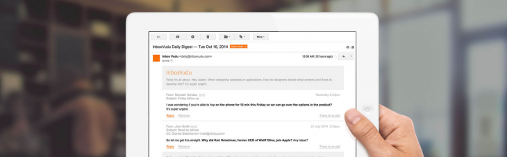 InboxVudu makes your inbox smarter so you won't miss an important email