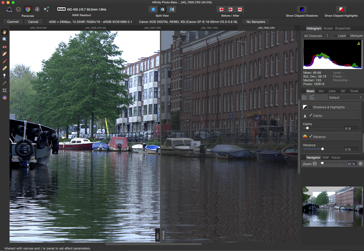 Hands on: The Affinity Photo Challenge to Photoshop