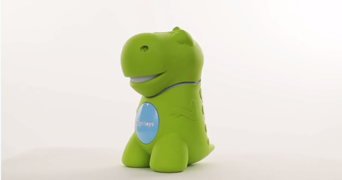 This talking dinosaur has a brain powered by IBM's Watson supercomputer