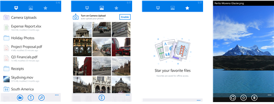 Dropbox for Windows Phone update adds shared folders