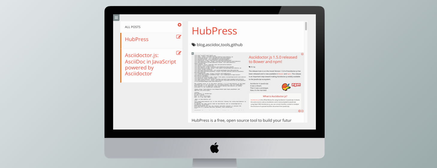 HubPress Makes It Easy To Build A Blog On GitHub
