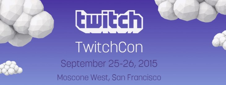 Twitch announces TwitchCon for September 25 – 26 in San Francisco