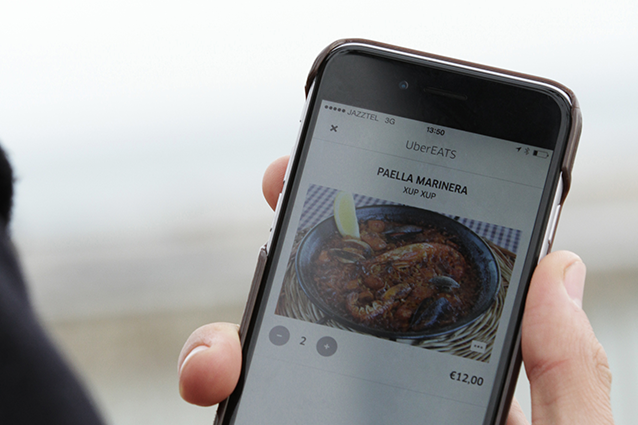 Uber launches its food delivery service in Barcelona just in time for Mobile World Congress