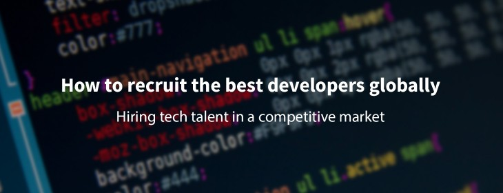 How to find and attract the best developers globally