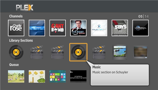Plex For Roku Gets Updated With Flat Design