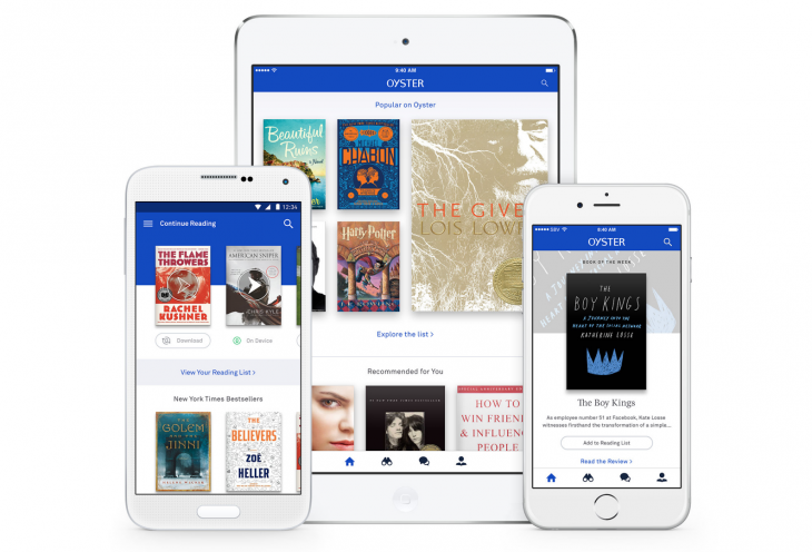 Oyster updates its app with a focus on contextual book recommendations