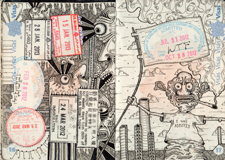 Going places: You too can tote an updated, tattooed passport (at your own risk)