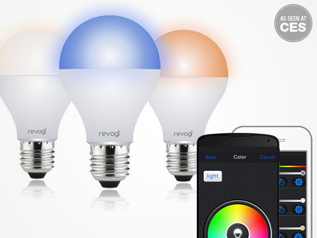 30% off Revogi Smart Color Bluetooth LED Bulb
