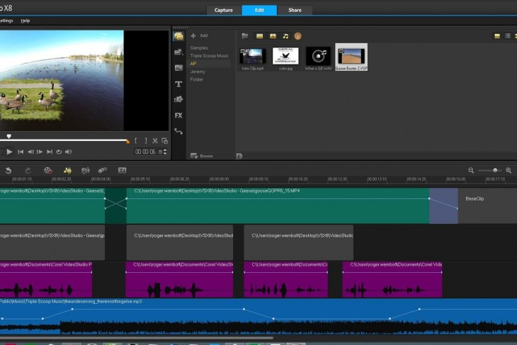xvga_Audio Ducking VideoStudio X8