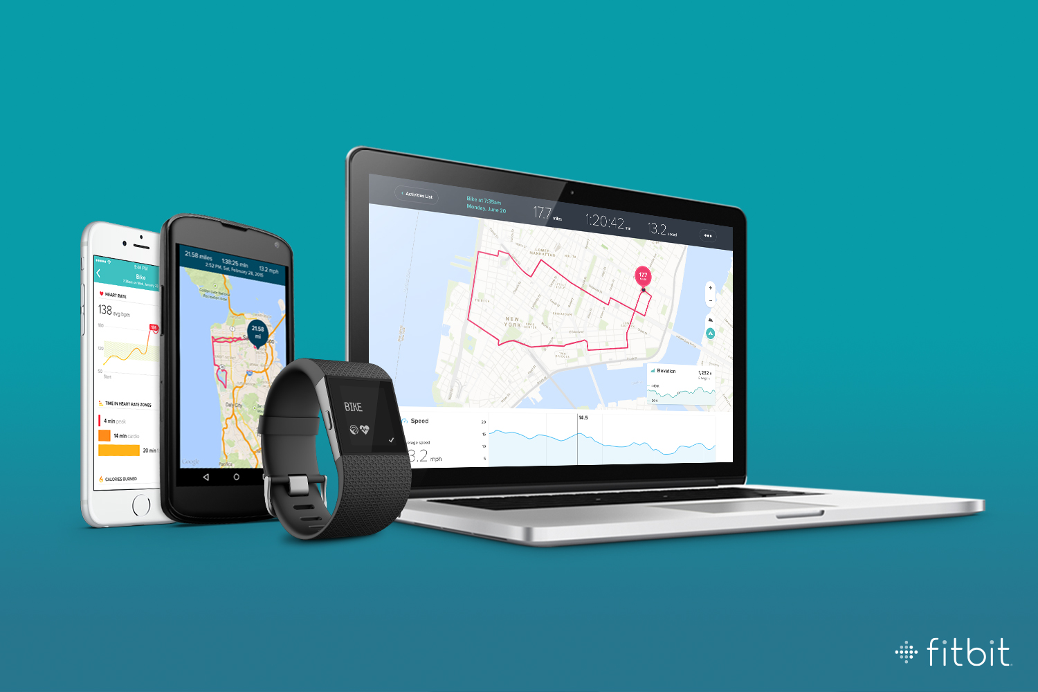 Fitbit Adds Cycling and Multi-Device Support to the Surge