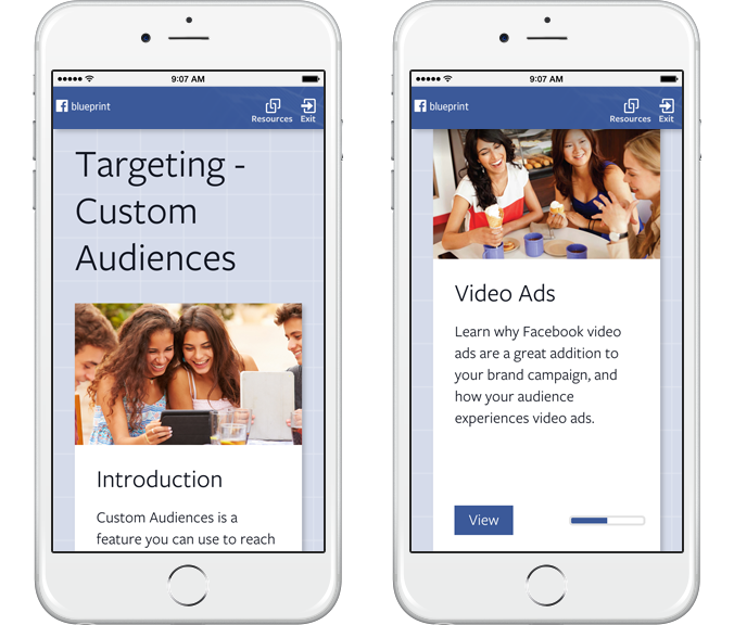 Facebook launches 'Blueprint' training and certification program for brands and marketers ...