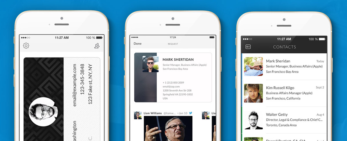 Zap Brings Business Cards Into The Digital Age