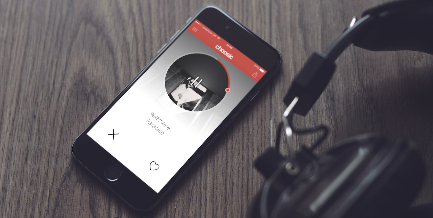 Choosic is quite literally Tinder for tunes