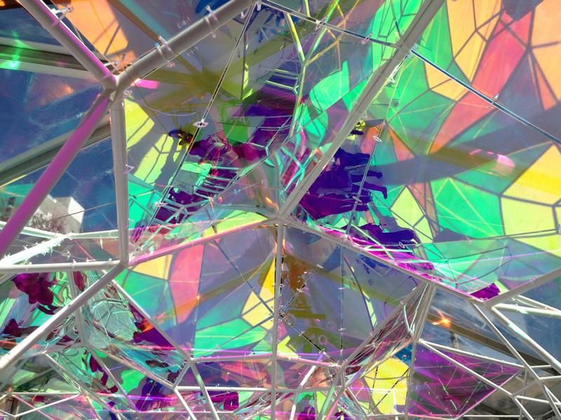 Art And Tech Meet Under A Richly Hued Kaleidoscope At Sxsw